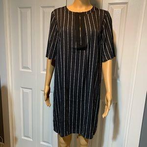 BCBGMaxAzria Sketchy Striped Dress